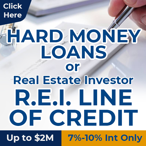 Real Estate Investor R.E.I Line of Credit